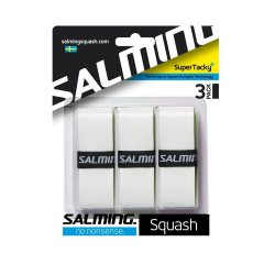 SALMING SuperTacky+ OverGrip White 3-pack