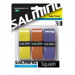 SALMING SuperTacky+ OverGrip Royal Mix 3-pack