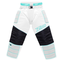 ZONE kalhoty MONSTER white/light turquoise