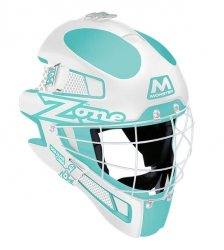ZONE maska MONSTER SQUARE CAGE light turquoise/white