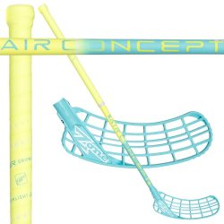 ZONE ZUPER AIR 31 neon yellow/light turquoise 92