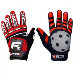 FREEZ G-180 GOALIE GLOVES red senior