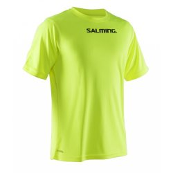 SALMING tričko Focus Tee safety yellow JR