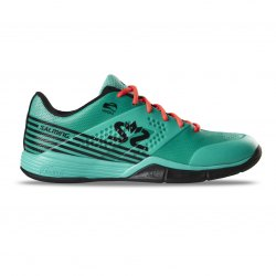SALMING Viper 5 Shoe Men Turquoise/Black