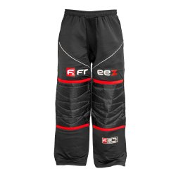 FREEZ Z-80 GOALIE PANT BLACK/RED JR