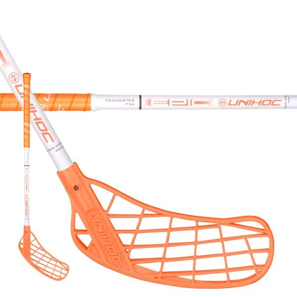 UNIHOC EPIC YOUNGSTER 36 neon orange/white